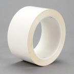 3M™ Polyester Film Tape 850 White, 3 in x 72 yd 1.9 mil