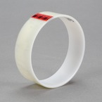3M™ Polyester Film Tape 853 Transparent, 1/2 in x 72 yd 2.2 mil