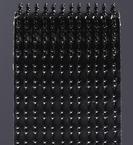 3M™ Dual Lock™ Reclosable Fastener SJ3542 170 Black, 1/2 in x 50 yd 0.23 in (5.88 mm)
