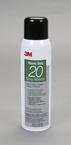 3M™ Heavy Duty 20 Spray Adhesive Clear, 20 fl oz can, Net Weight 13.8 oz