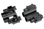 3M™ Scotchlok™ Electrical IDC 901-Box, Run and Tap, Black, 18-14 AWG