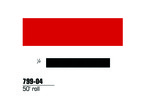3M™ Scotchlite™ Reflective Striping Tape 79904, Red, 1/4 in x 50 ft