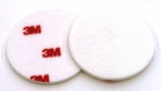 3M™ Finesse-it™ Buffing Pad 09357, 3 in Red/White