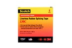 Scotch® Linerless Rubber Splicing Tape 130C-3/4x30 ft, 3/4 in x 30 ft (19 mm x 9 1 m)