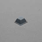 3M™ Bumpon™ Blister Pack SJ5018 Black, 0.500 in x 0.230 in