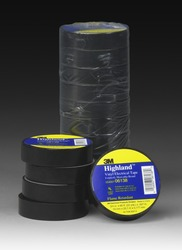 3M™ Highland™ Vinyl Electrical Tape HIGHLAND, 3/4 in x 66 ft (19 mm x 20 1 m)