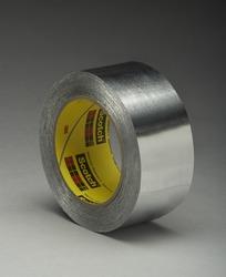 3M™ High Temperature Aluminum Foil Tape 433 Silver, 3/4 in x 60 yd