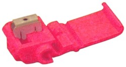 3M™ Scotchlok™ Electrical IDC 557-BULK, Pigtail, Self-Stripping, Moisture Resistant and Flame Retardant, Red, 22-16 AWG