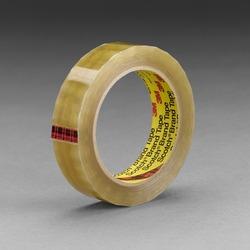 Scotch® Transparent Film Tape 681 Clear, 1/2 in x 72 yd