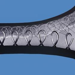 3M™ Fastener SJ3526N Hook Black, 1 in x 50 yd 0.15 in (3.8 mm) Engaged Thickness