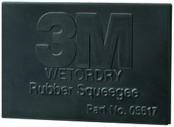 3M™ Wetordry™ Rubber Squeegee 5518, 2 in x 3 in