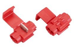 3M™ Scotchlok™ Electrical IDC 558-BULK, Run and Tap, Flame Retardant, Red, 22-16 AWG