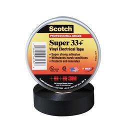 Scotch® Super 33+™ Vinyl Electrical Tape 33+super-3/4X66 ft, 3/4 in x 66 ft (19 mm x 20 1 m)