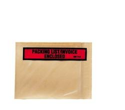 3M™ Top Print Packing List Envelope PLE-T2, 4 1/2 in x 6 in