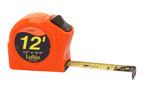 Lufkin Power Tape Rule 3/4inx 12ft Orange Hi-vis A2 Blade