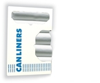 Z6037MN R01 - HDPE Liners, Natural 30X37 in - 20-30 Gallon