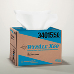 WYPALL* X60 TERI* Wipers - White