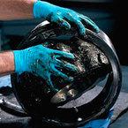 KLEENGUARD* G10 Blue Nitrile Textured Gloves XL